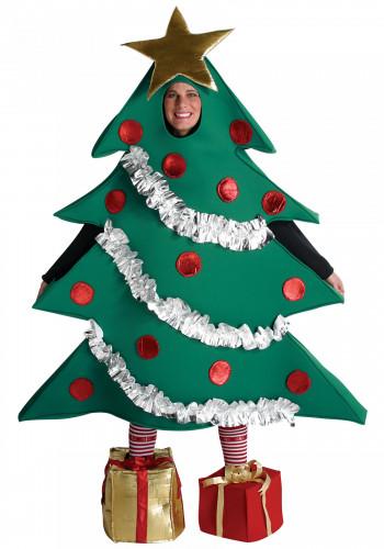 Costume albero di Natale per adulto