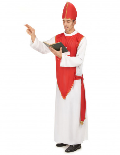 Costume da cardinale per uomo-1