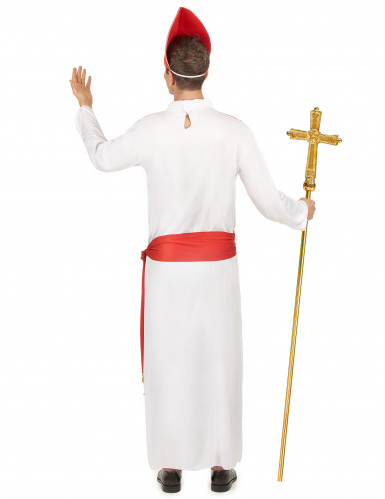 Costume da cardinale per uomo-2