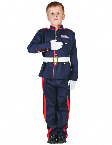 Costume da soldato ufficiale per bambino