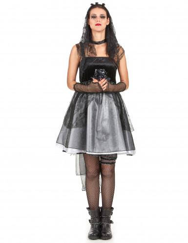 Costume da sposa gotica per donna