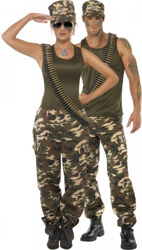 Costume coppia tema militare