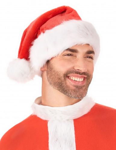 Cappello rosso e bianco Babbo Natale-2
