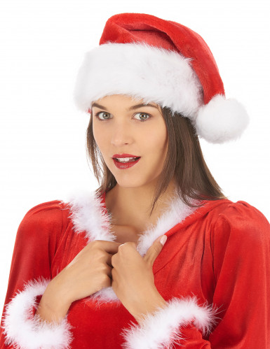 Cappello rosso e bianco Babbo Natale-1