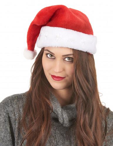 Cappello Babbo Natale luminoso-2