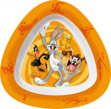 Piatto fondo Looney Tunesin melammina