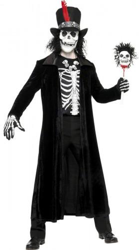 Costume da stregone voodoo per adulto per Halloween