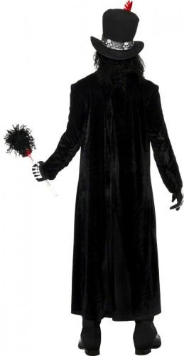 Costume da stregone voodoo per adulto per Halloween-2