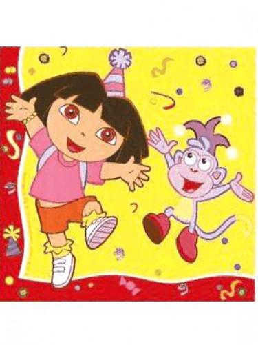 20 tovaglioli di carta Dora l'esploratrice™
