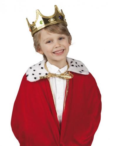 Corona da re per bambino