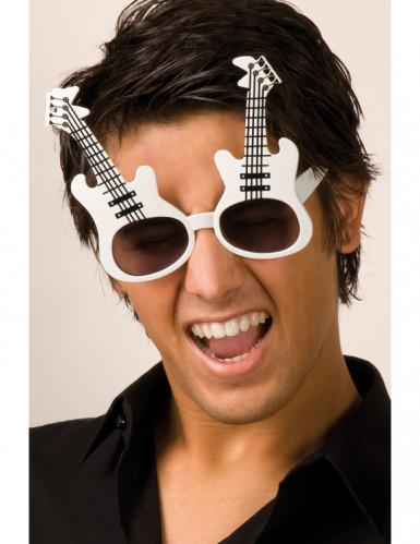 Occhiali a forma di chitarra