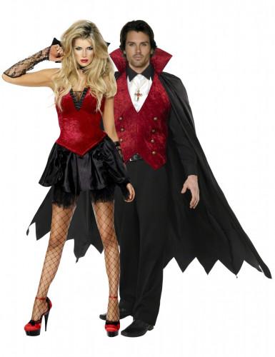 Travestimento coppia vampiri Halloween