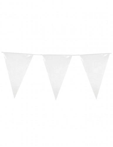 1 ghirlanda di bandiere bianche