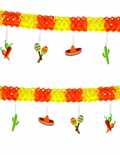 Ghirlanda colorata messicana