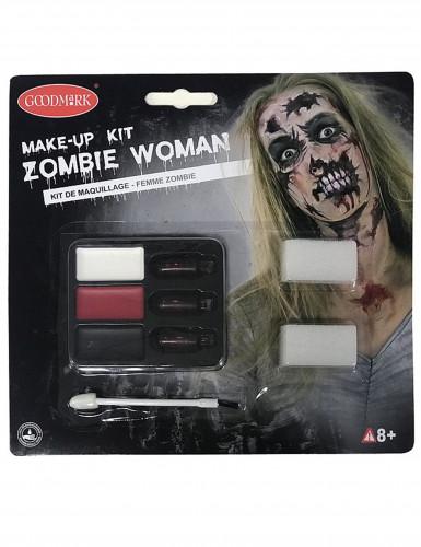 Kit per trucco zombie per donna per Halloween-1