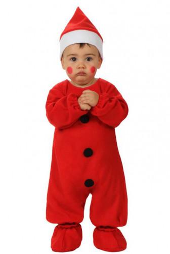 Costume neonato Babbo Natale