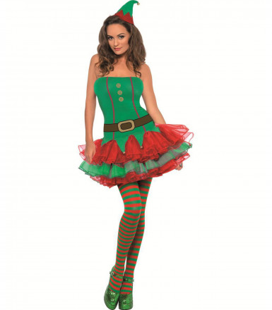 Costume da elfo sexy per donna