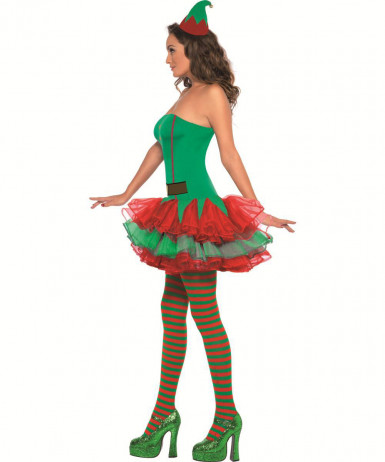 Costume da elfo sexy per donna-2