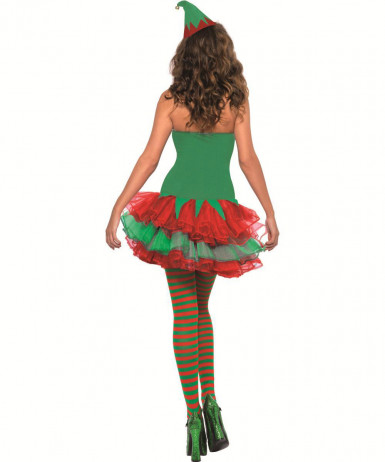 Costume da elfo sexy per donna-1
