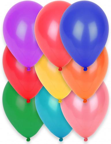 Confezione da 12 palloncini di vario colore
