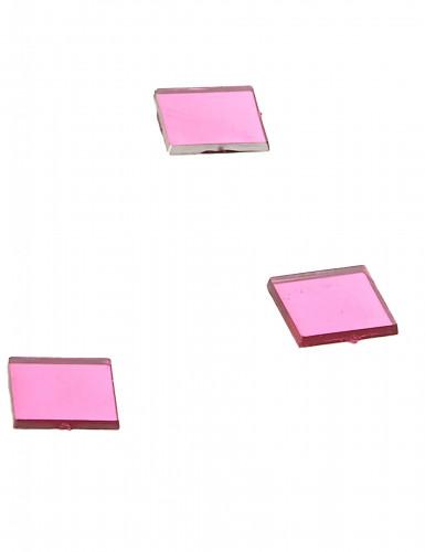 20 mini specchi quadrati fucsia-1