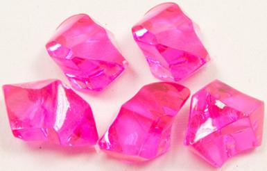 Pietre con effetto cristallo di colore fucsia