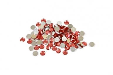 Coriandoli da tavolo rotondi di colore rosso
