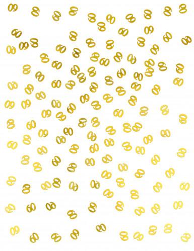 Coriandoli da tavola dorati numero 60-1