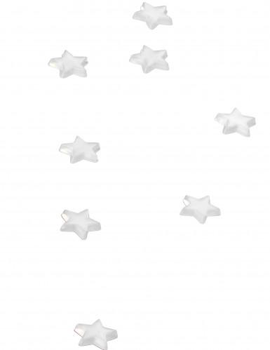 48 stelle a specchio bianco 1 x 1 cm-1