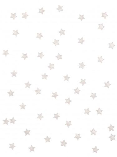 48 stelle a specchio bianco 1 x 1 cm