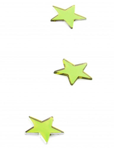 10 mini specchi a stella verdi-1