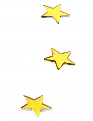 10 specchietti a forma di stella gialli-1