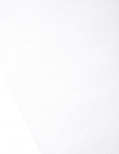 Runner da tavola in organza brillante bianca-1