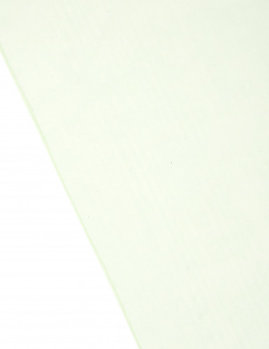 Runner da tavola in organza verde erba brillante-1