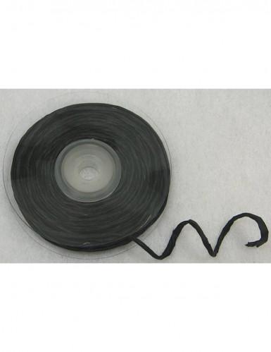 10 metri di rafia nera con filo metallico
