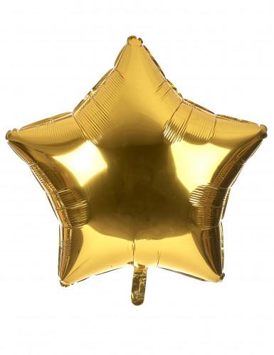 Pallone gigante stella dorata