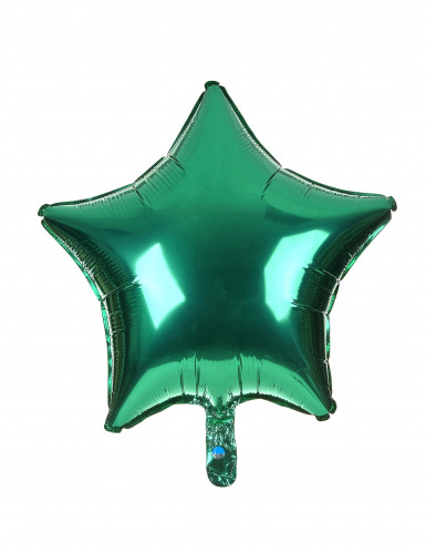 Palloncino verde a forma di stella