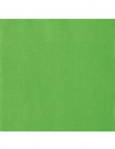 Confezione 20 tovaglioli verdi