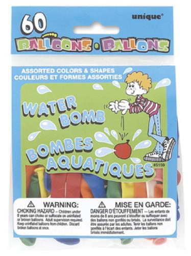 50 Palloncini colorati per gavettoni
