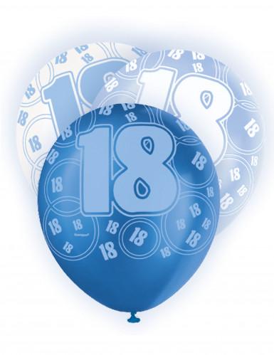 Palloncini blu per i 18 anni