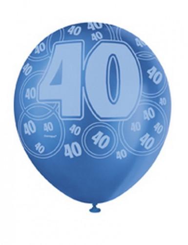 Palloncini blu per 40 anni-2