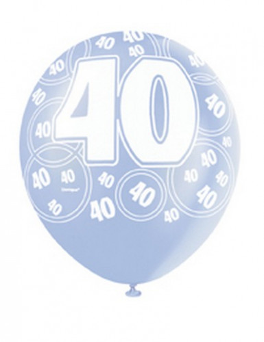 Palloncini blu per 40 anni-1