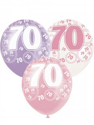 Palloncini colorati per 70 anni