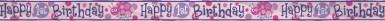 Banner Primo Compleanno rosa