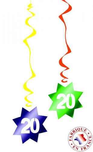 6 spirali da appendere 20 anni