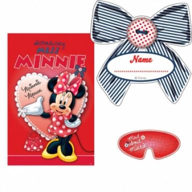 Gioco rosso di Minnie™ per festa di compleanno
