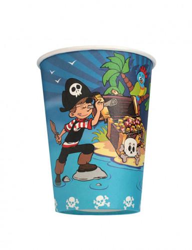 6 bicchieri Pirata