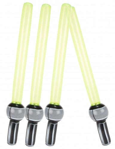 4 Spade laser che si gonfiano