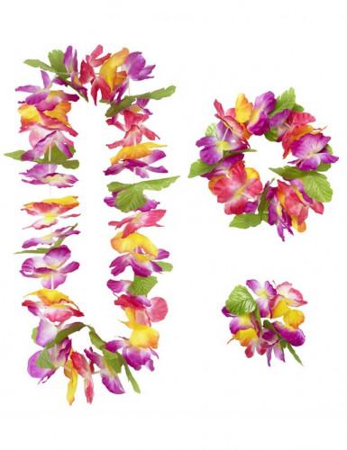 Set di fiori stile Hawaii per adulto-1