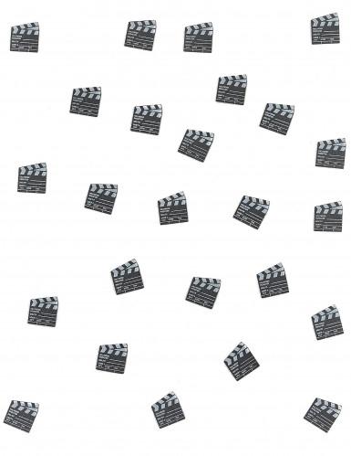 25 Coriandoli da tavolo Ciak del cinema-1